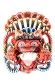 Traditional nepalese mask — Fotografia Stock