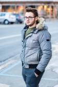 Strolling in winter — Stock Photo