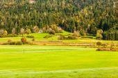 Mountain golf course — Stock Photo