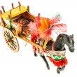 Sicilian folk horse cart — Stock Photo #76936267