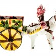 Sicilian horse cart — Stock Photo #76936297