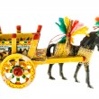 Sicilian cart miniature — Stock Photo #76936323