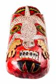 Big Witch Doctor mask — Stock Photo