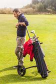 Refrigeração no campo de golfe — Fotografia Stock