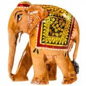 Indian souvenir figur eines elefanten stockfoto for Indischer holztisch