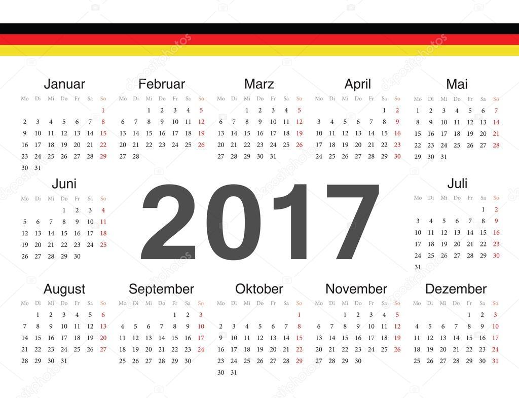 Kalender 2017 Brandenburg: Ferien, Feiertage, Excel-Vorlagen
