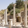The ruins of the ancient city of Ephesus, located on the territory of modern Turkey — Stock Photo #51802611