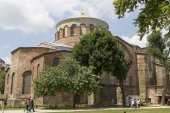 Ancient majestic temple in the territory of the Topkapi Palace — Stock Photo