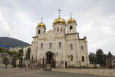 Saviour Cathedral in cloudy weather in Pyatigorsk — 图库照片