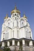 Spaso-Preobrazhensky Cathedral in Khabarovsk — Foto Stock