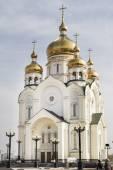 Spaso-Preobrazhensky Cathedral in Khabarovsk — Stockfoto