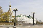 Khabarovsk Theological Seminary — Stock Photo