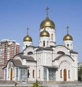 Temple in honor of the Annunciation in Samara — Stock Photo