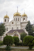 Saviour Cathedral in cloudy weather in Pyatigorsk — Stock Photo