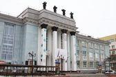 Rusko - 22. prosince: Magadan činoherní divadlo na 22 prosinci 2014 v Magadanu. — Stock fotografie