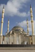Main mosque of the Chechen Republic - Heart of Chechnya — Stock Photo