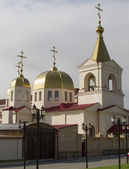 Orthodox Church in the capital of the Chechen Republic — Stock Photo
