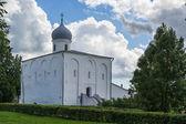 Assumption Church at the Trade Courtyard, Veliky Novgorod — Stock Photo