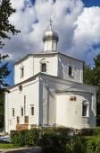 La chiesa di st george nel marketplace, velikij novgorod — Foto Stock