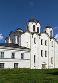 St. Nicholas Cathedral, Veliky Novgorod — Stock Photo