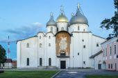 Cathedral of St. Sophia The Wisdom Of God, Veliky Novgorod — Stock Photo