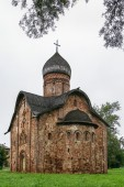 Sts. Peter And Paul Church, Veliky Novgorod  — Stock Photo