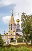 The Church of the Nativity of the Theotokos in Gorodnya, Russia — Stock Photo