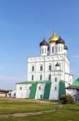 Trinity Cathedral in Pskov — Stock Photo