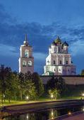 The Krom or Kremlin in Pskov — Stock Photo