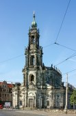 Dresden Cathedral, Germany — Стоковое фото