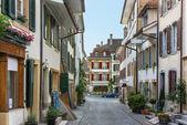 Street in Murten,,Switzerland — Stockfoto
