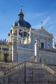 Almudena Cathedral, Madrid — Stock Photo