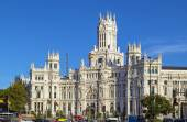 Palácio de Cybele, Madrid — Fotografia Stock