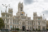 The Cybele Palace, Madrid, Spain. — Stockfoto