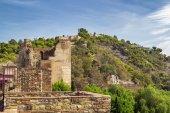 Alcazaba and Gibralfaro fortress in Malaga — Stock Photo