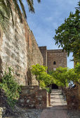 Alcazaba of Malaga, Spain — Stock Photo