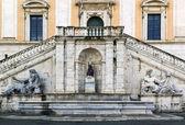 Palazzo Senatorio, Rome — Stock Photo
