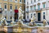 Fontana del Moro, Rome — Stock Photo