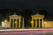 Neoclassical propylaea, Rome — Stock Photo
