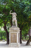Statue in garden of Villa Celimontana, Rome — Stock Photo