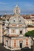Church Santa Maria di Loreto, Rome — Stock Photo