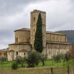 Abbey of Sant Antimo, Italy — Stock Photo #72175861