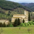Abbey of Sant Antimo, Italy — Stock Photo #72208293