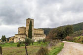 Abbey of Sant Antimo, Italy — Stock Photo