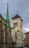 St. Pierre Cathedral, Geneva, Swizerland — Stock Photo
