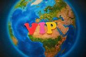 Word vip — Stock Photo