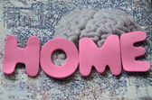 Home word — Stock Photo