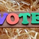 Vote — Stock Photo #70836723