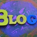 Blog — Stock Photo #71200481