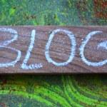 Blog — Stock Photo #71200911